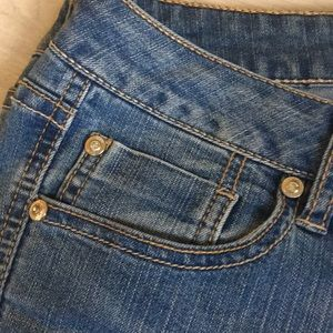 Cache Jeans - Cache jeans with rhinestone